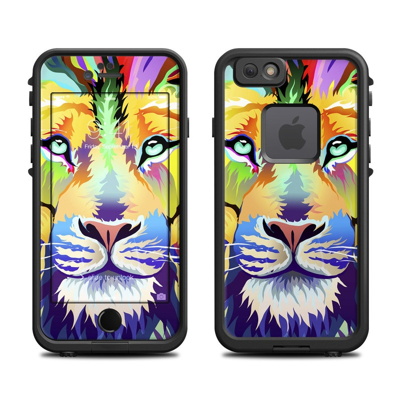 King of Technicolor LifeProof iPhone 6s fre Case Skin
