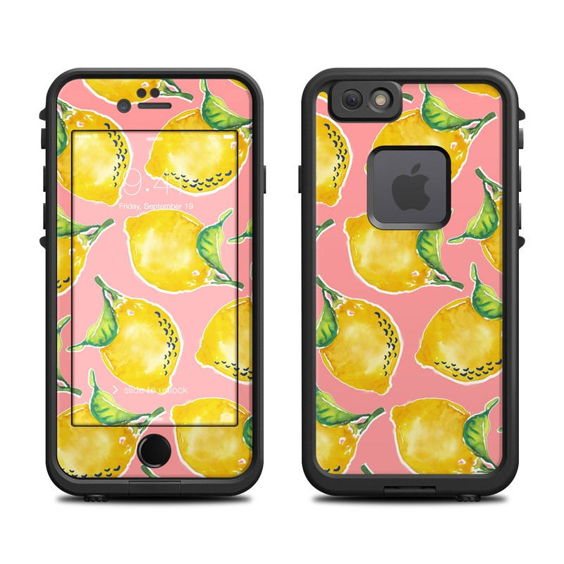 Lemon LifeProof iPhone 6s fre Case Skin