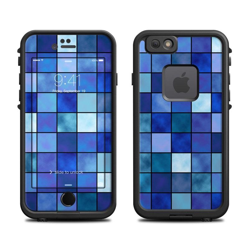 Blue Mosaic LifeProof iPhone 6s fre Case Skin