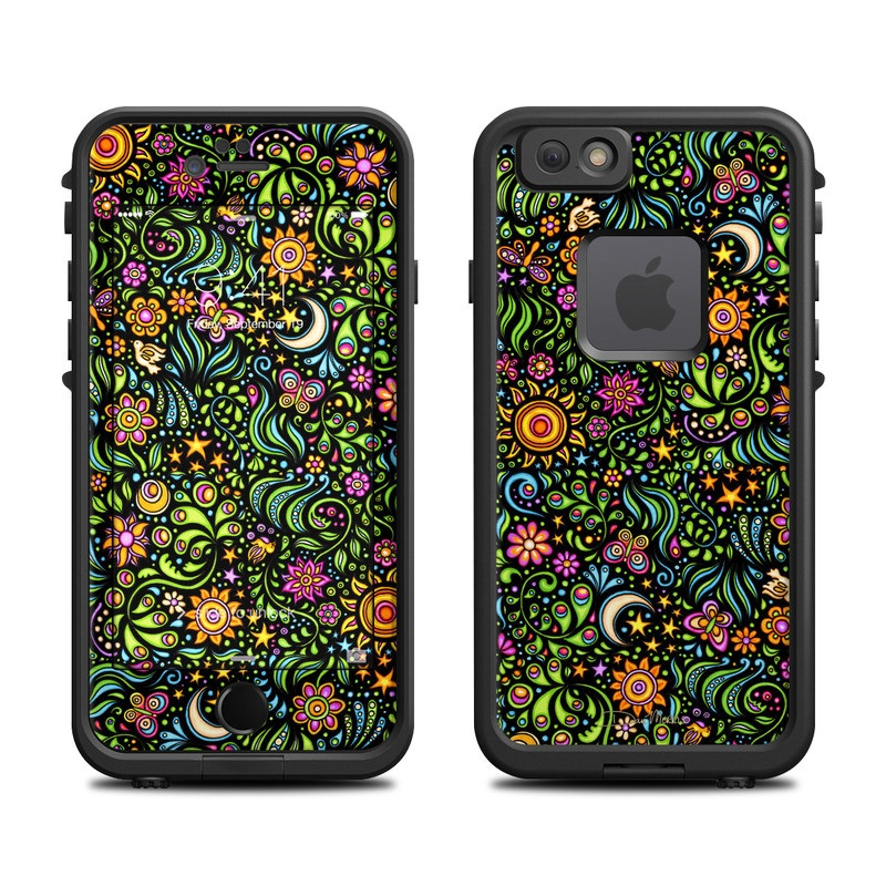 Nature Ditzy LifeProof iPhone 6s fre Skin