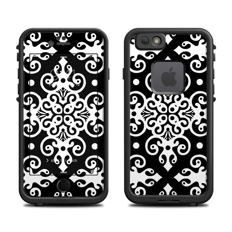 Noir LifeProof iPhone 6s fre Case Skin
