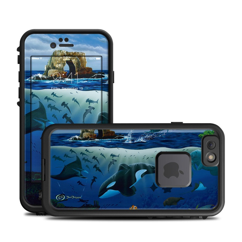 Oceans For Youth LifeProof iPhone 6s fre Skin