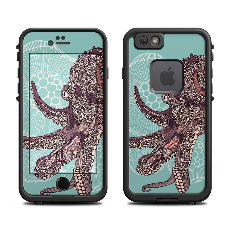Octopus Bloom LifeProof iPhone 6s fre Case Skin
