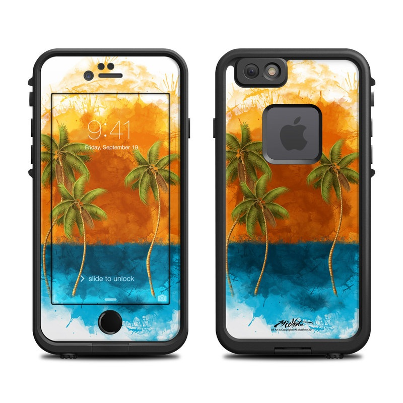 Palm Trio LifeProof iPhone 6s fre Case Skin
