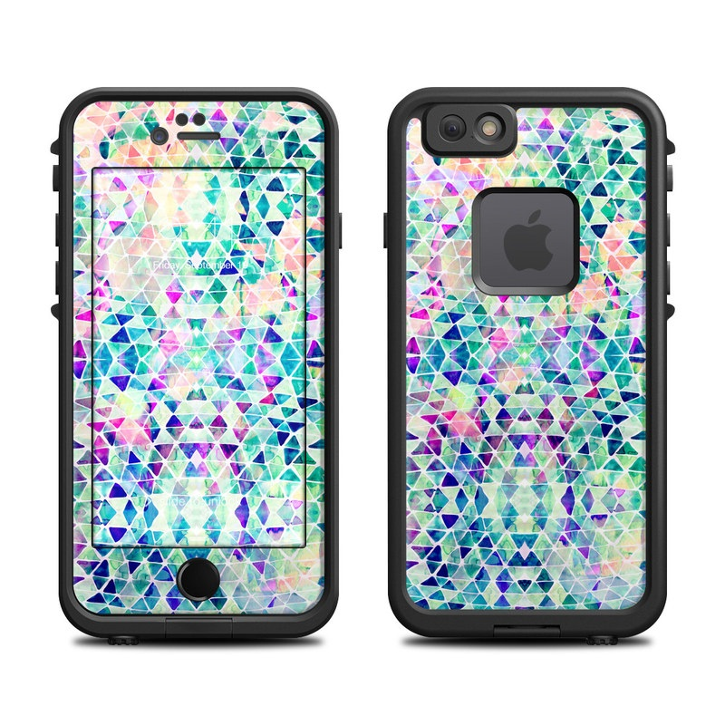 Pastel Triangle LifeProof iPhone 6s fre Case Skin