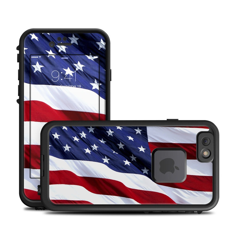 Patriotic LifeProof iPhone 6s fre Case Skin
