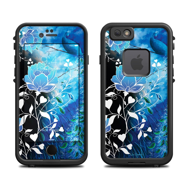 Peacock Sky LifeProof iPhone 6s fre Skin