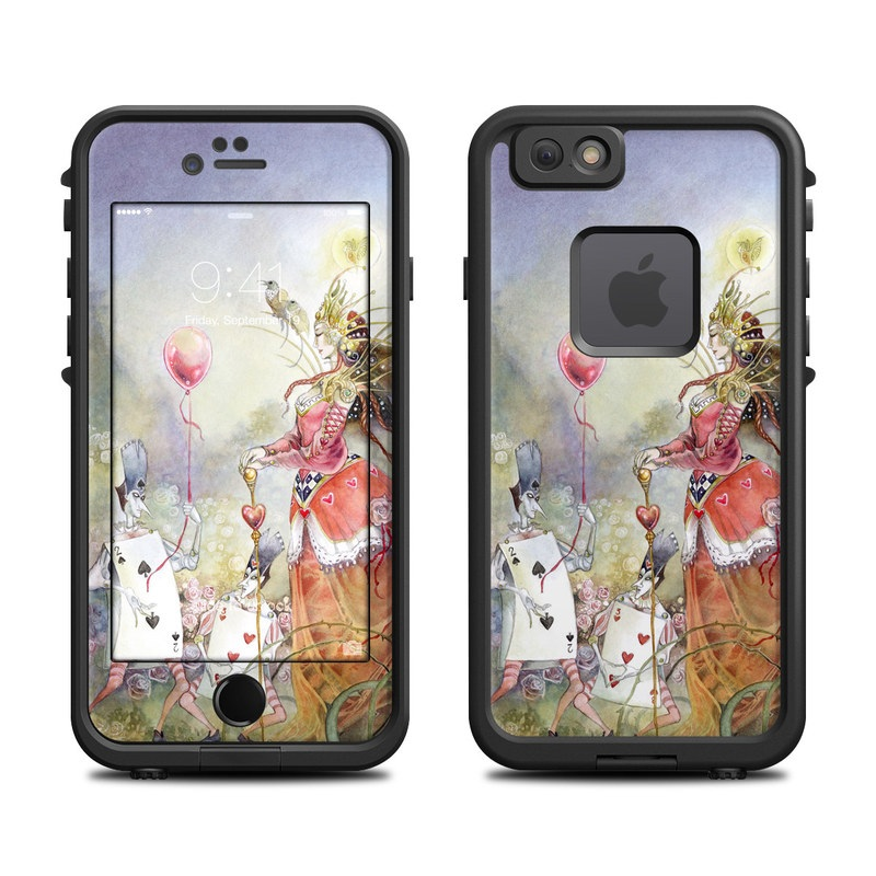 Queen of Hearts LifeProof iPhone 6s fre Case Skin