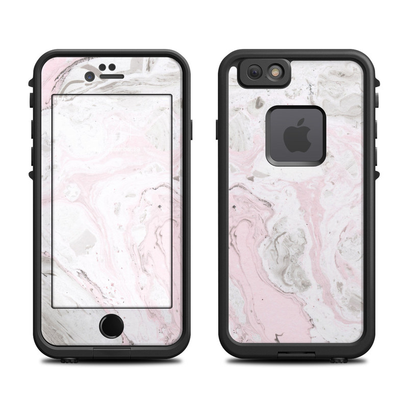 Rosa Marble LifeProof iPhone 6s fre Case Skin
