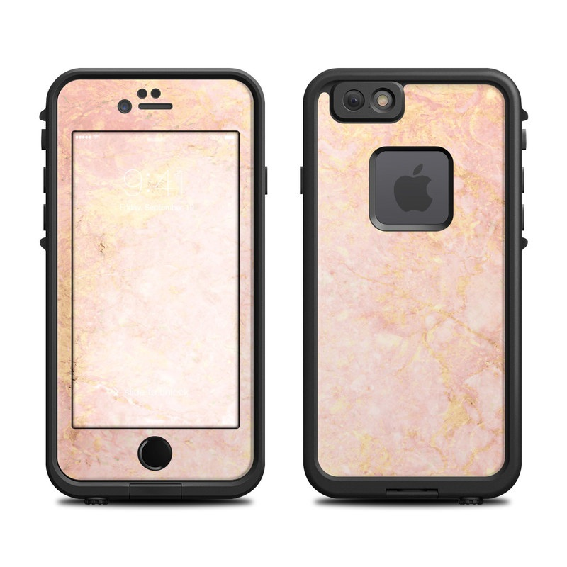 Rose Gold Marble LifeProof iPhone 6s fre Case Skin  e79ffc336754
