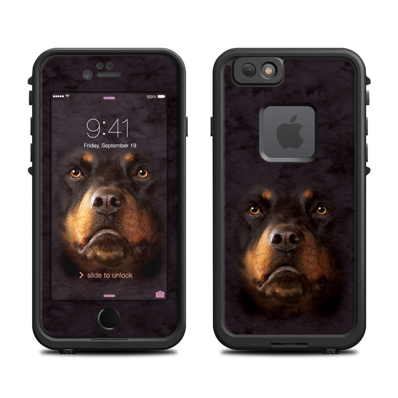 Rottweiler LifeProof iPhone 6s fre Skin