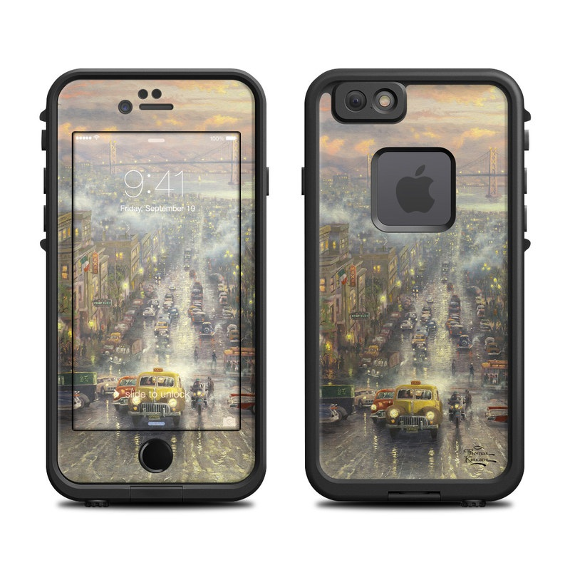 Heart of San Francisco LifeProof iPhone 6s fre Skin