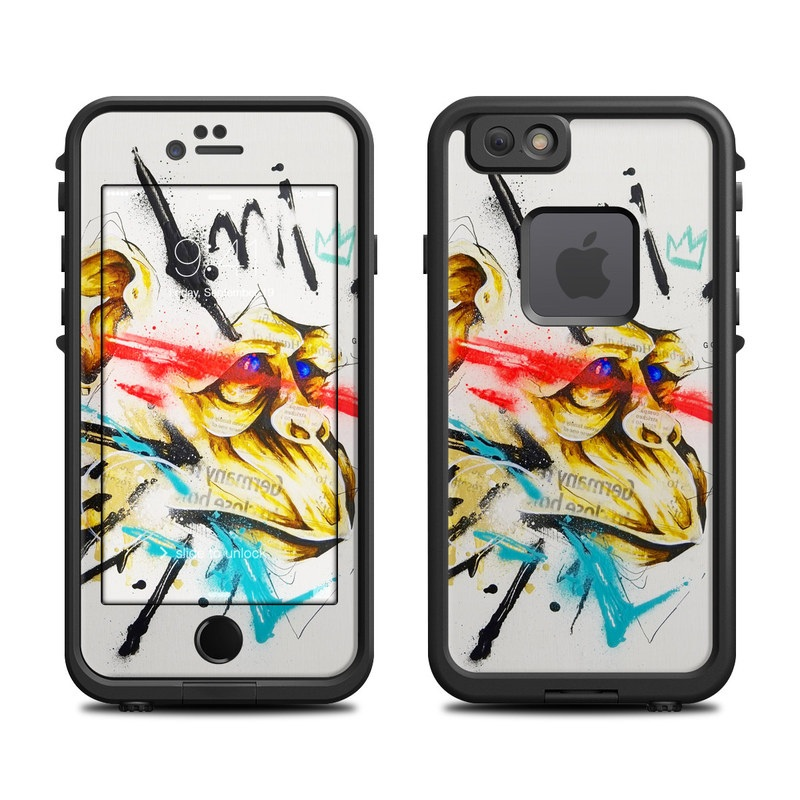 Saru LifeProof iPhone 6s fre Case Skin