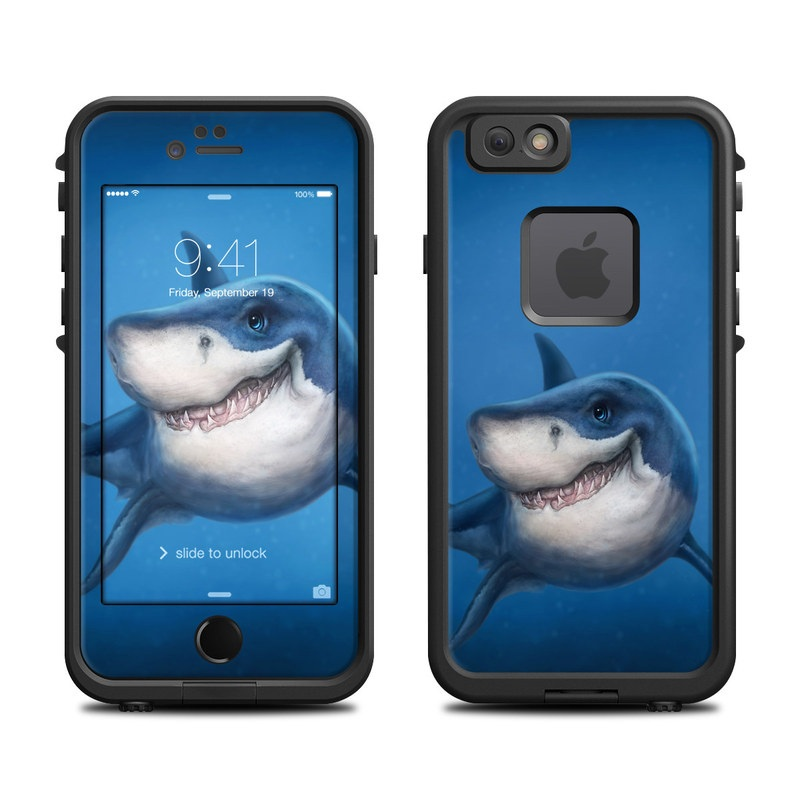 Shark Totem LifeProof iPhone 6s fre Skin