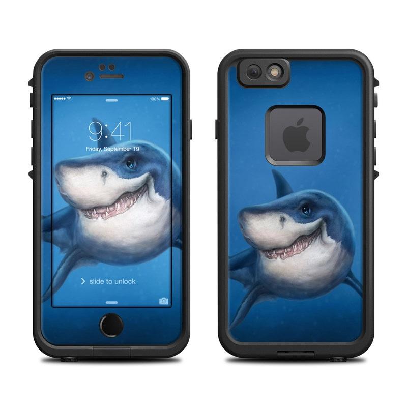 Shark Totem LifeProof iPhone 6s fre Skin