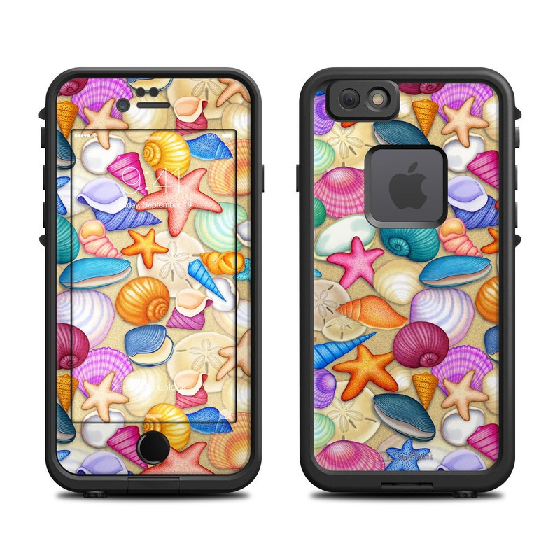 Shells LifeProof iPhone 6s fre Case Skin