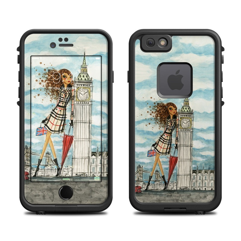 The Sights London LifeProof iPhone 6s fre Skin
