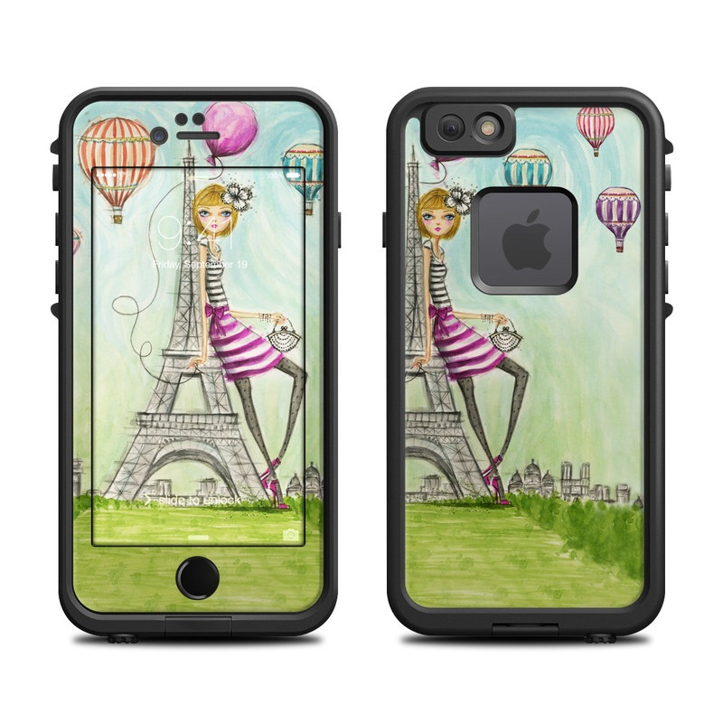 The Sights Paris LifeProof iPhone 6s fre Case Skin