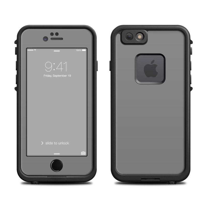Solid State Grey LifeProof iPhone 6s fre Case Skin