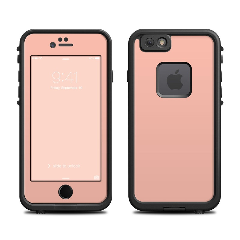 Solid State Peach LifeProof iPhone 6s fre Case Skin