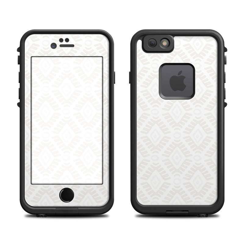 Stamped Diamond LifeProof iPhone 6s fre Case Skin