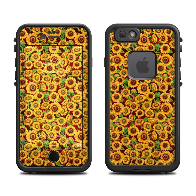 Sunflower Patch LifeProof iPhone 6s fre Case Skin