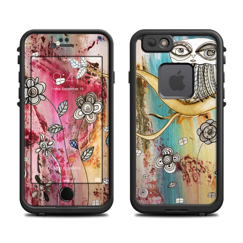 Surreal Owl LifeProof iPhone 6s fre Case Skin
