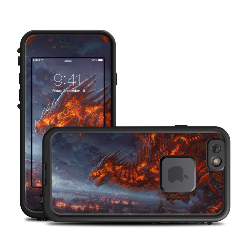 Terror of the Night LifeProof iPhone 6s fre Skin