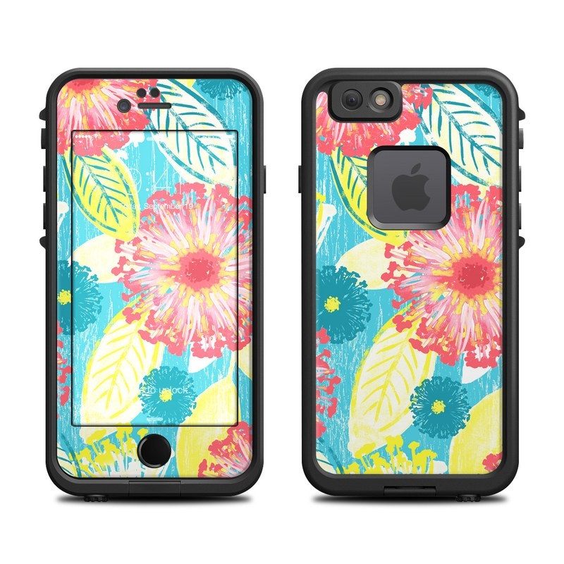 Tickled Peach LifeProof iPhone 6s fre Case Skin