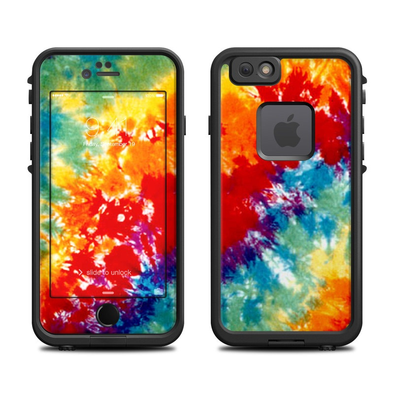 Tie Dyed LifeProof iPhone 6s fre Case Skin