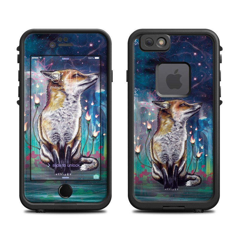 There is a Light LifeProof iPhone 6s fre Case Skin