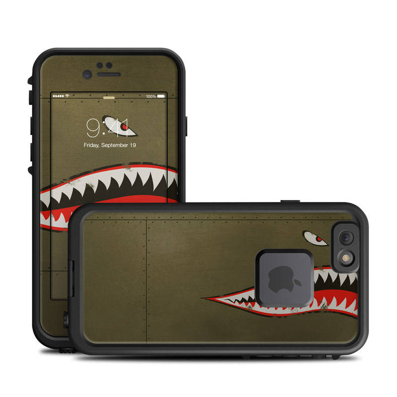 USAF Shark LifeProof iPhone 6s fre Skin