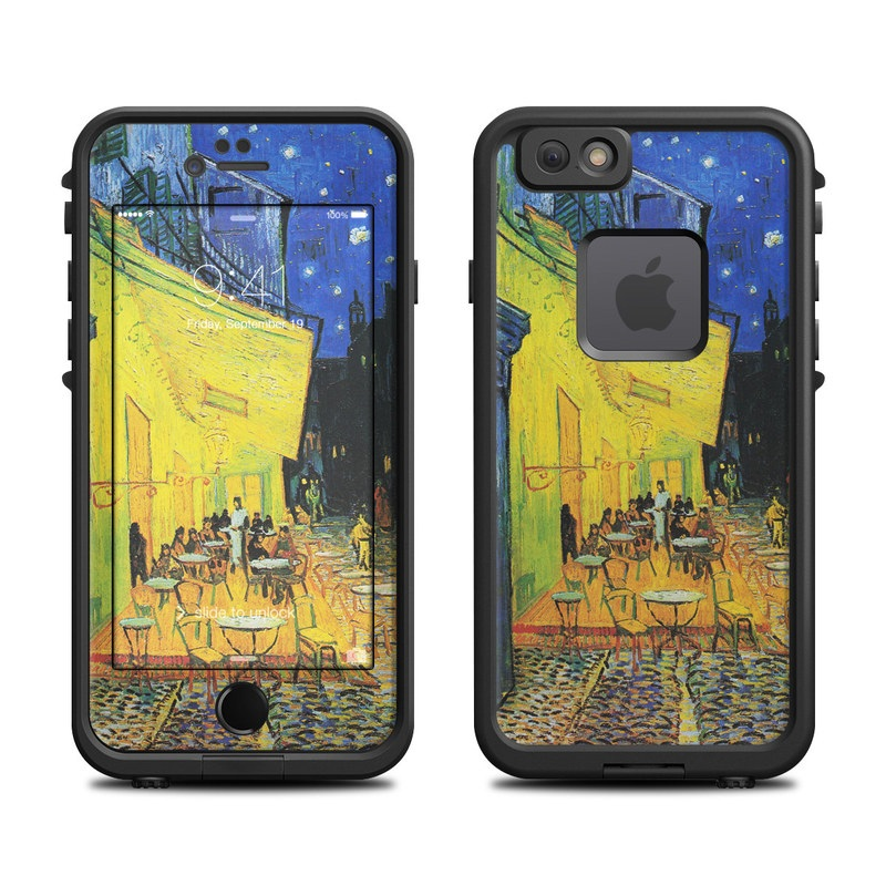 Cafe Terrace At Night LifeProof iPhone 6s fre Case Skin