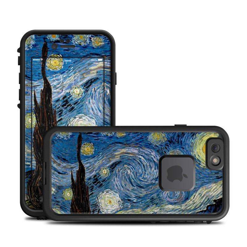 Starry Night LifeProof iPhone 6s fre Skin