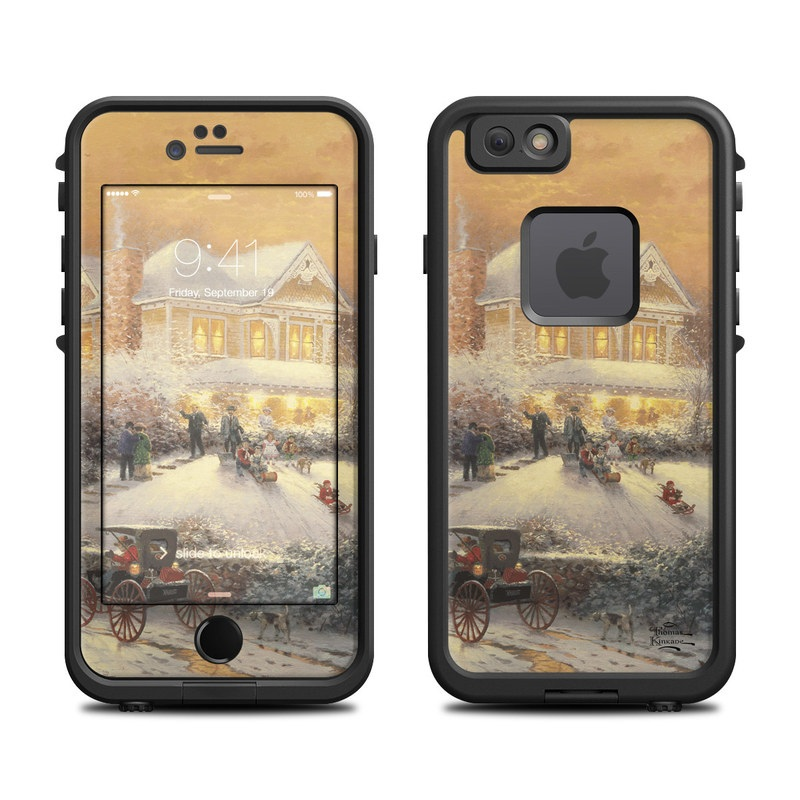 Victorian Christmas LifeProof iPhone 6s fre Skin