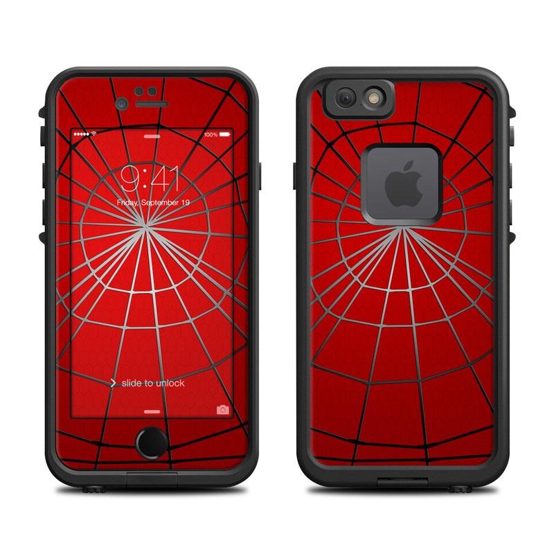 Webslinger LifeProof iPhone 6s fre Skin