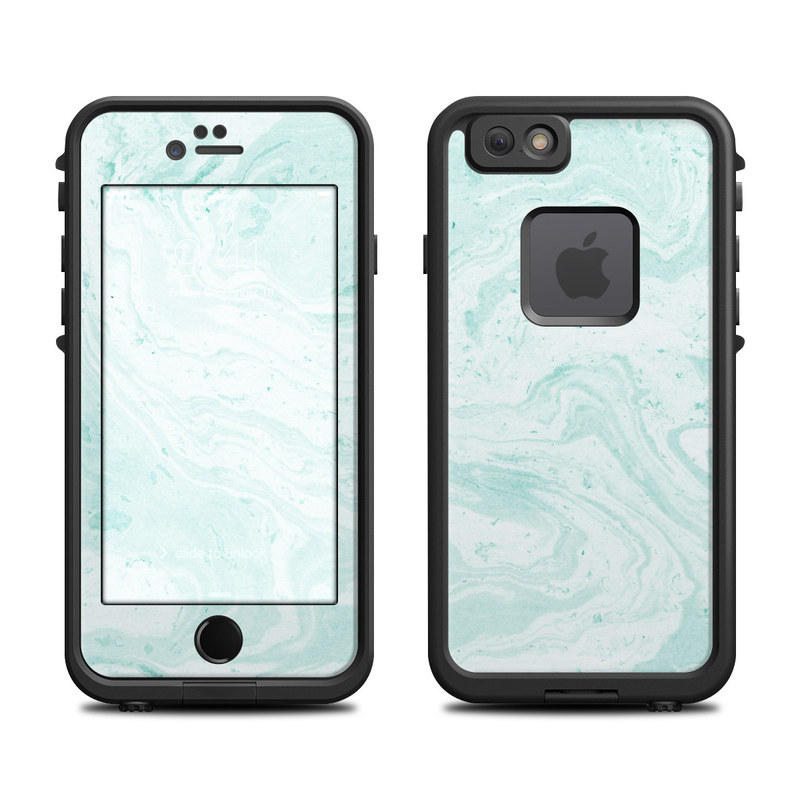 Winter Green Marble LifeProof iPhone 6s fre Case Skin