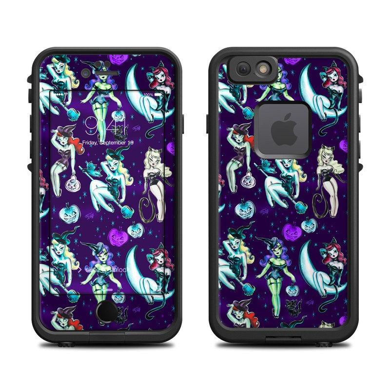 Witches and Black Cats LifeProof iPhone 6s fre Case Skin