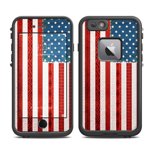 American Tribe LifeProof iPhone 6s Plus fre Case Skin