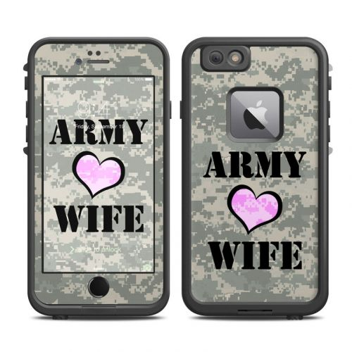 Army Wife LifeProof iPhone 6s Plus fre Skin