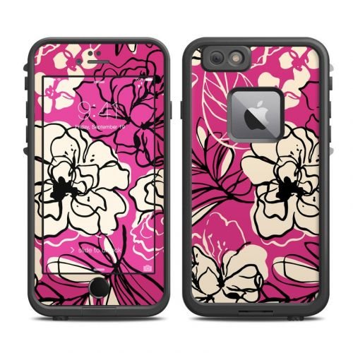 Black Lily LifeProof iPhone 6s Plus fre Skin