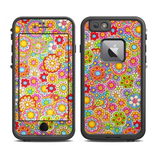 Bright Ditzy LifeProof iPhone 6s Plus fre Skin