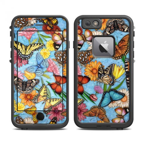 Butterfly Land LifeProof iPhone 6s Plus fre Skin