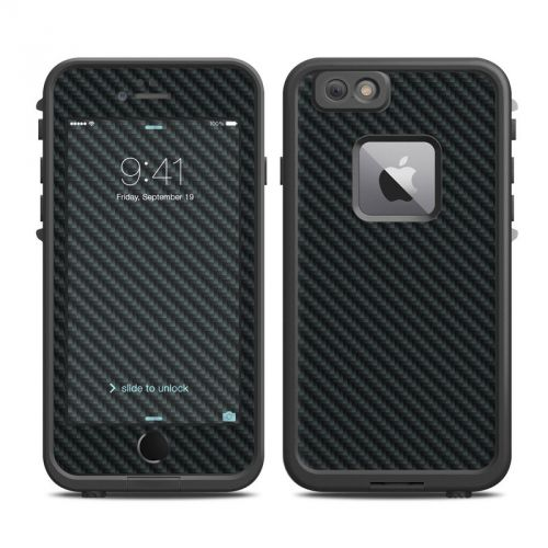 Carbon LifeProof iPhone 6s Plus fre Case Skin
