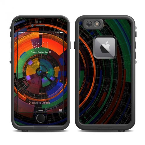 Color Wheel LifeProof iPhone 6s Plus fre Skin