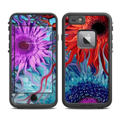 Deep Water Daisy Dance LifeProof iPhone 6s Plus fre Skin