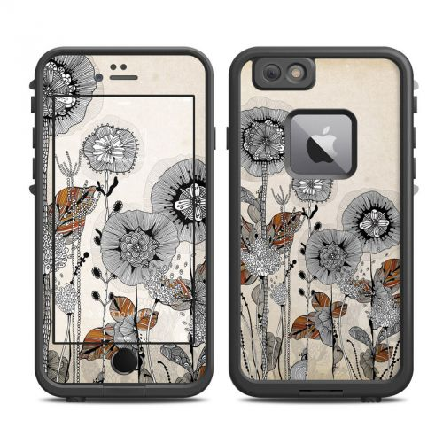 Four Flowers LifeProof iPhone 6s Plus fre Skin
