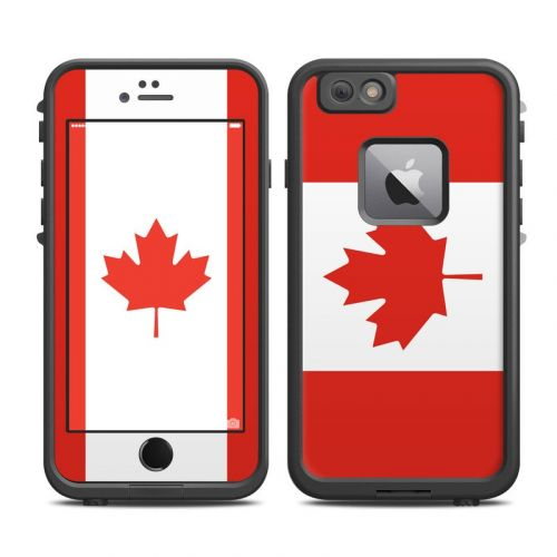 Canadian Flag LifeProof iPhone 6s Plus fre Skin