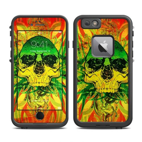 Hot Tribal Skull LifeProof iPhone 6s Plus fre Case Skin