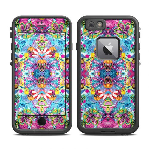Multicolor World LifeProof iPhone 6s Plus fre Case Skin